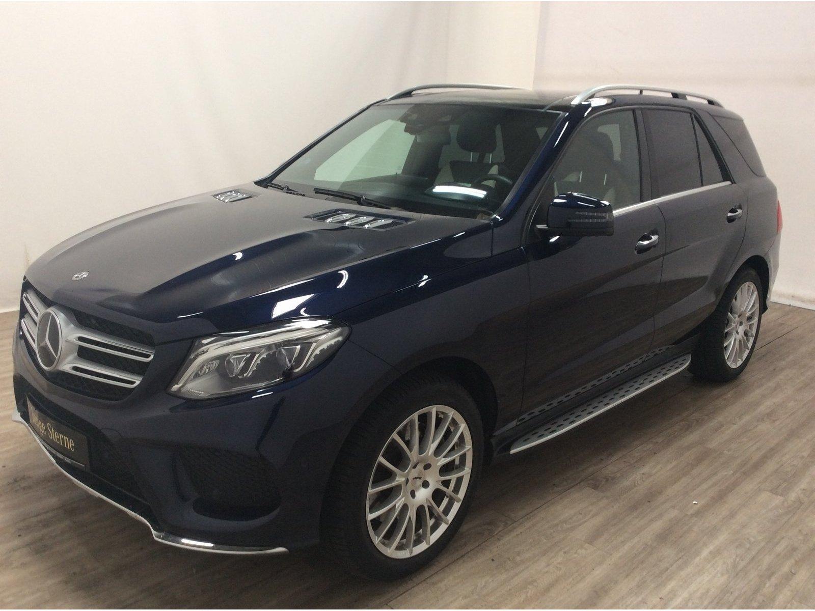 Mercedes-Benz GLE 500 4M AMG *Pano*AHK*Distronic*360°*COMAND*, Jahr 2018, Benzin