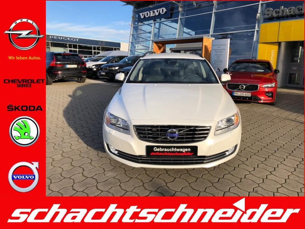 Volvo V70 D4 Geartr. Momentum+Standh.+Xenon+Navi+Leder+, Jahr 2015, Diesel
