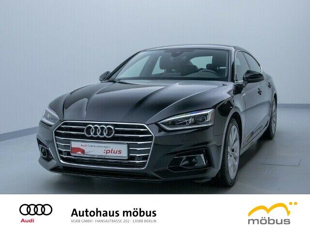 Audi A5 Sportback Design 2.0 TFSI S-TRO*NAV*ACC*RFK, Jahr 2017, Benzin