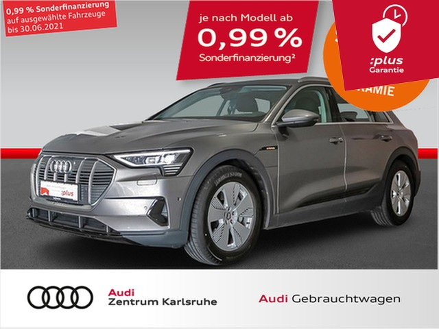 Audi e-tron 50 quattro LED, Jahr 2020, Elektro