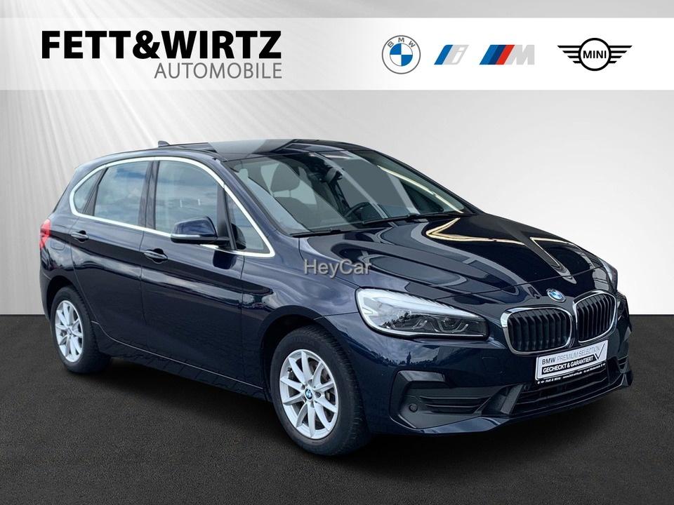 BMW 220 Active Tourer Aut. Adv. Navi LED Parkass., Jahr 2018, Benzin