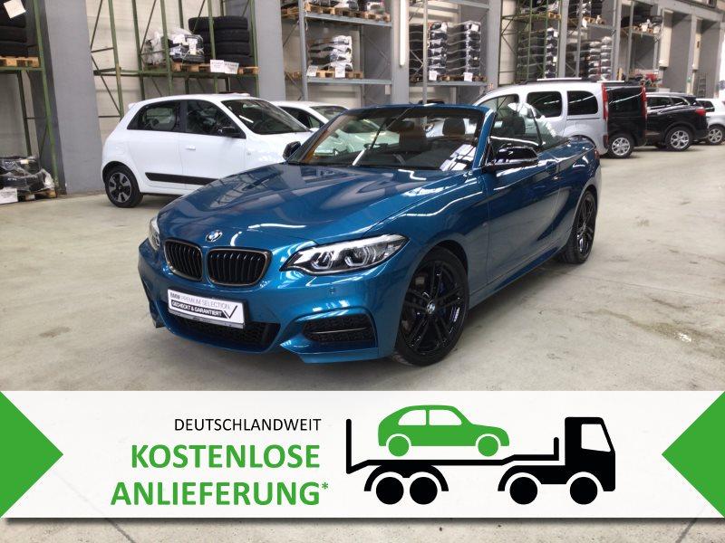 BMW M240i Cabrio Navi Prof. HiFi HK Alarm RFK DAB, Jahr 2020, Benzin