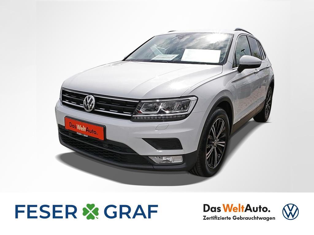 Volkswagen Tiguan Comfortline 2.0 TDI Navi LED ACC LM 18, Jahr 2017, Diesel