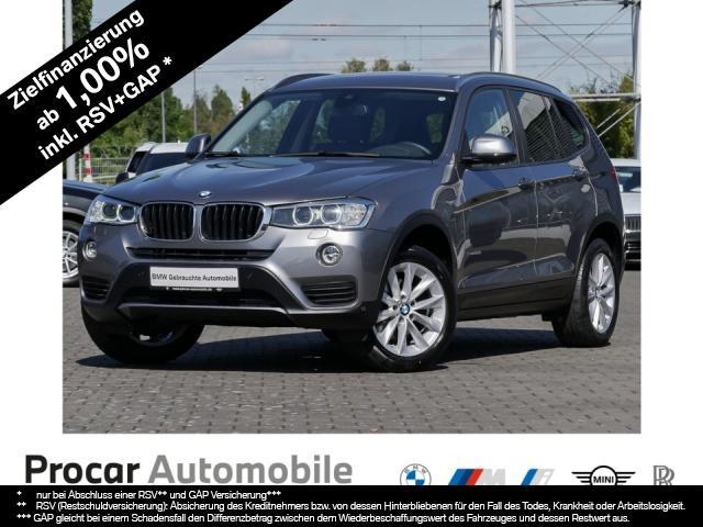 BMW X3 xDrive20d Aut. Navi Xenon Leder Klimaaut. AHK, Jahr 2017, Diesel