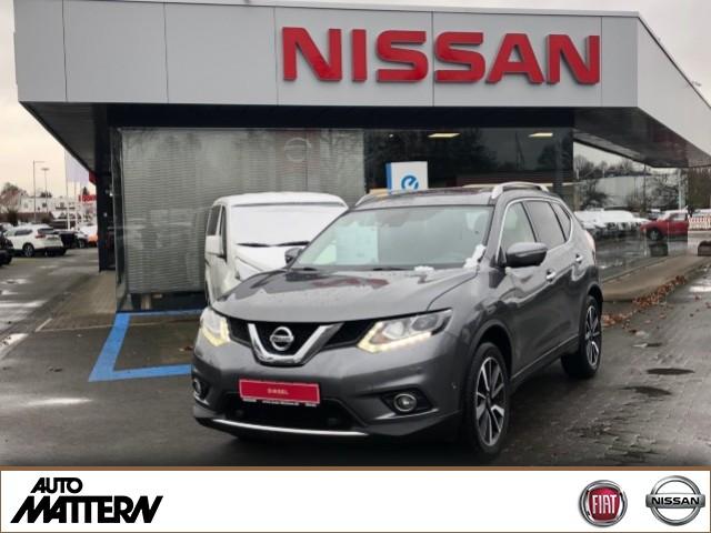 Nissan X-Trail Tekna 4x4 Navi-Leder, Jahr 2017, Diesel