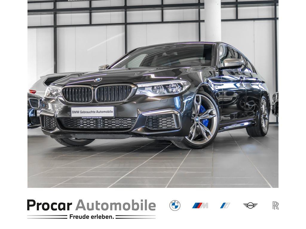 BMW M550i xDrive Limousine Night Vision Head-Up DAB, Jahr 2018, Benzin
