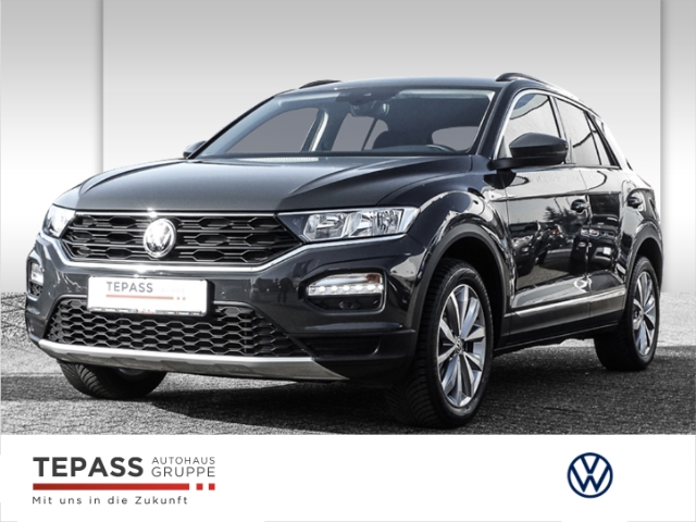 Volkswagen T-Roc 1.0 TSI Style NAVI PDC SHZ DAB+ BLUETOOTH, Jahr 2020, Benzin