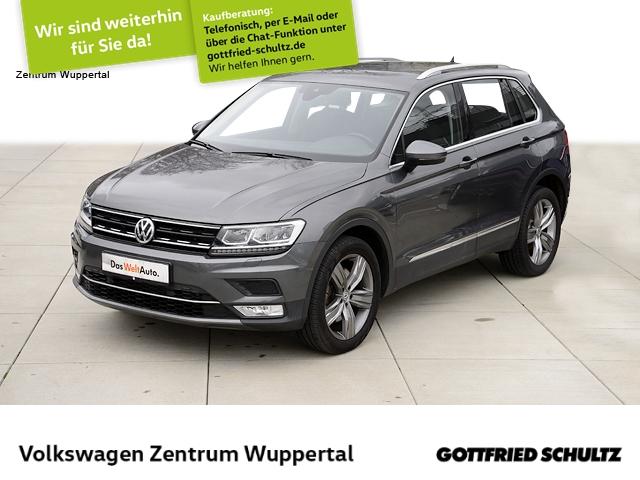 Volkswagen Tiguan 2,0 TDI Highline 4M DSG LED NAVI STANDHZG SHZ PDC, Jahr 2017, Diesel