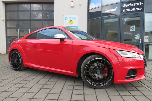 Audi TTS Coupe 2.0 TFSI Quattro Matrix/Virtual/B&O/22, Jahr 2015, Benzin