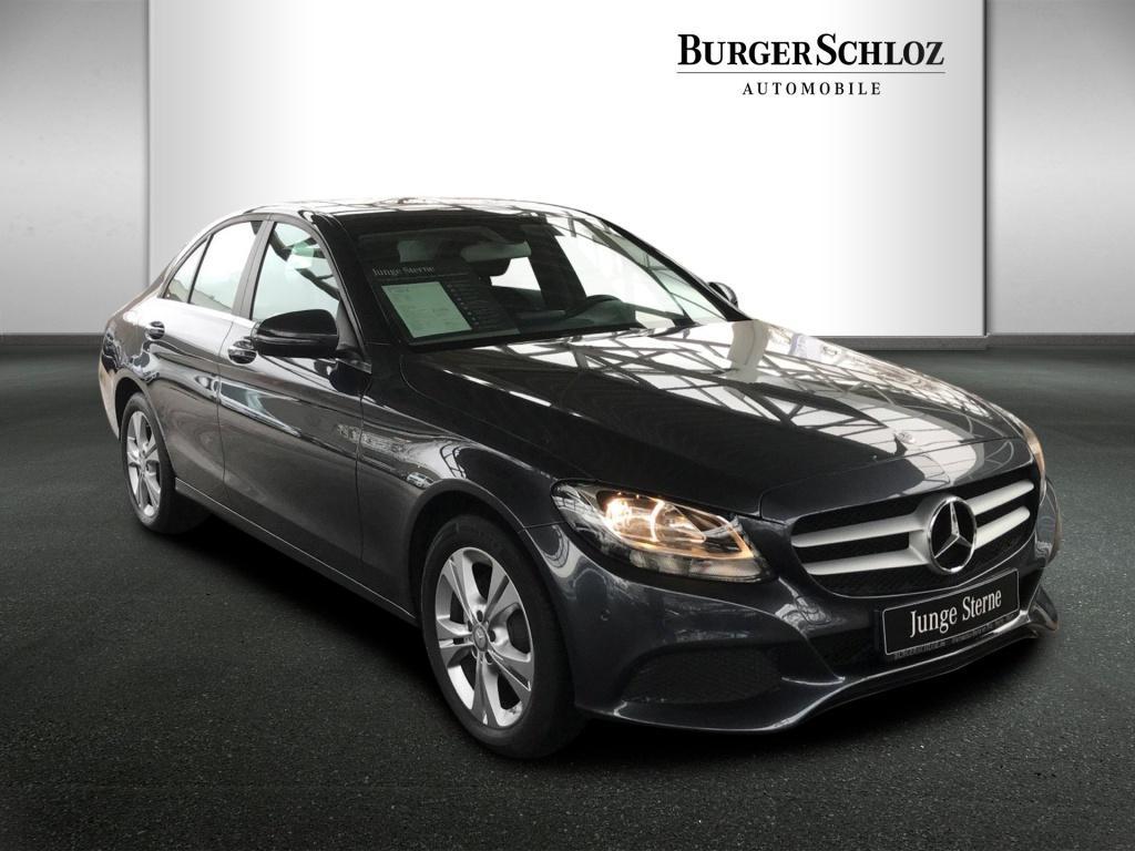 Mercedes-Benz C 180 d AHK/Navi/Schiebedach/PDC, Jahr 2015, Diesel