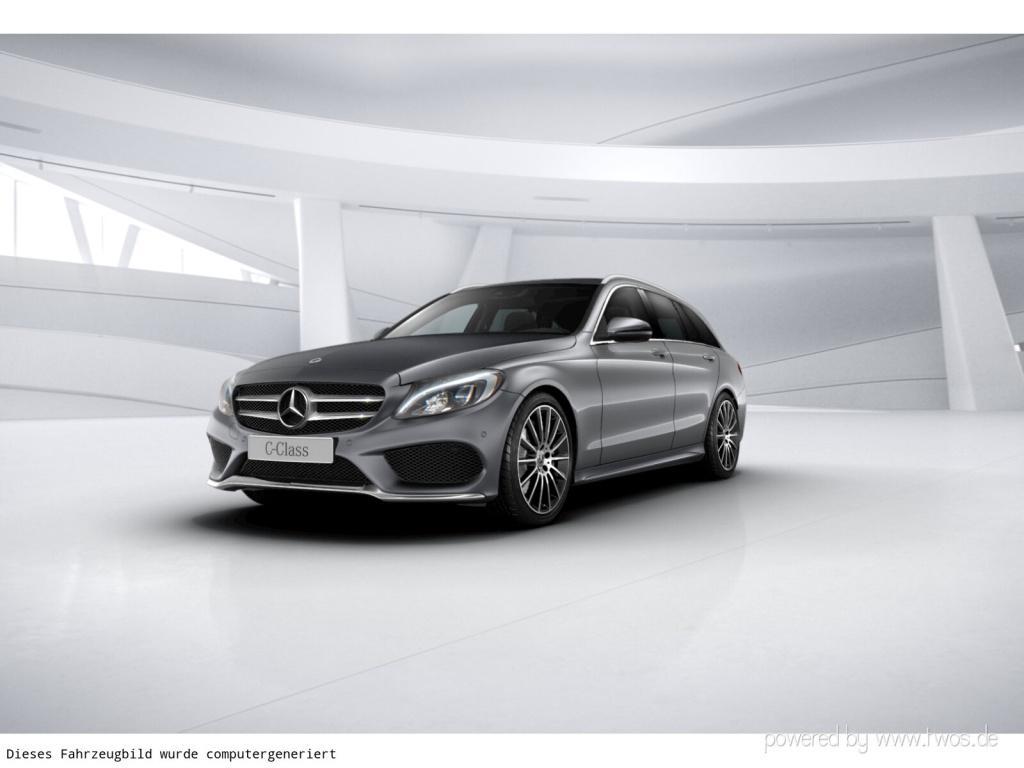 Mercedes-Benz C 250 T-Modell AMG/LED/Comand/9G/PDC/Kamera, Jahr 2018, Benzin