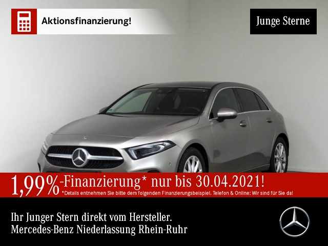 Mercedes-Benz A 220 Progressive Multibeam HUD Spurhalt-Ass PTS, Jahr 2019, Benzin