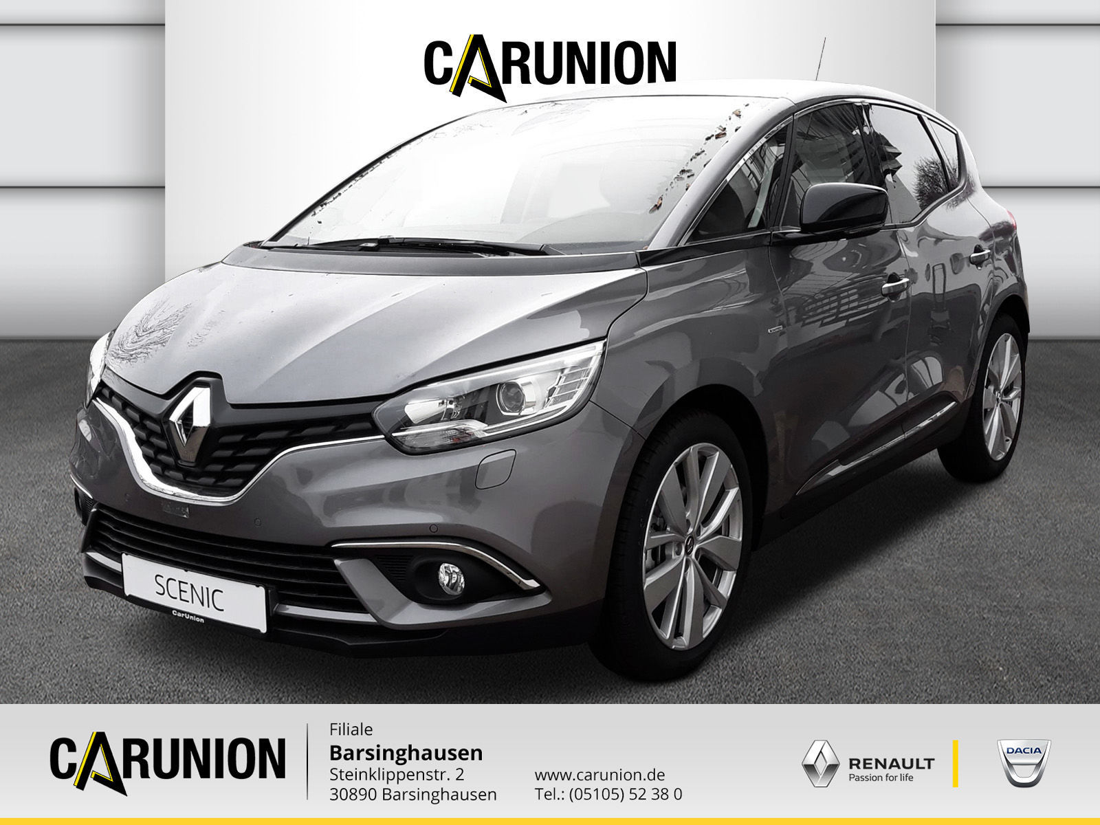 Renault Scenic LIMITED Deluxe ENERGY TCe 140, Jahr 2018, Benzin
