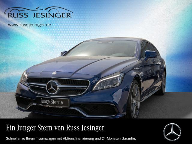 Mercedes-Benz CLS 63 S 4MATIC Shooting Brake +SHD+DISTRONIC+, Jahr 2016, Benzin