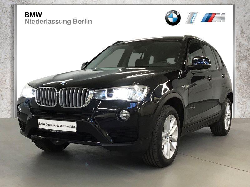 BMW X3 xDrive30d EU6 Aut. Leder Xenon NaviProf. AHK, Jahr 2017, Diesel