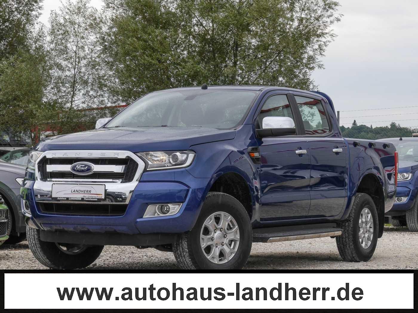 Ford Ranger 4x4 XLT DOKA // AHK/Klima, Jahr 2019, Diesel