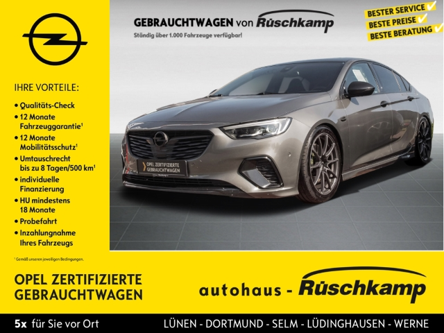 Opel Insignia Grand Sport GSi 4x4 2.0 Tieferlegung, Jahr 2018, Benzin