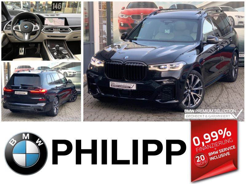 BMW X7 M50d B&W Laser DAP SKY 6.Sitze Standheizung, Jahr 2019, Diesel
