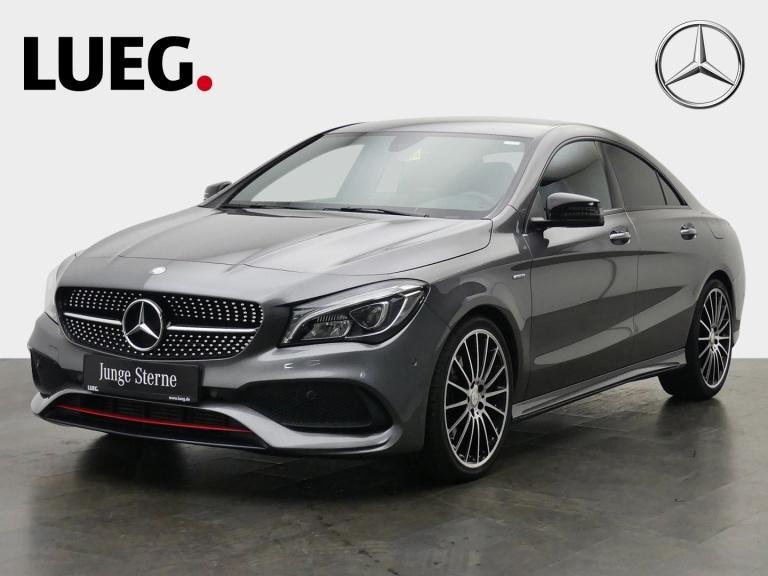 Mercedes-Benz CLA 250 Sport AMG+Navi+LED-HP+H&K+19''+KeyG+Park, Jahr 2016, Benzin
