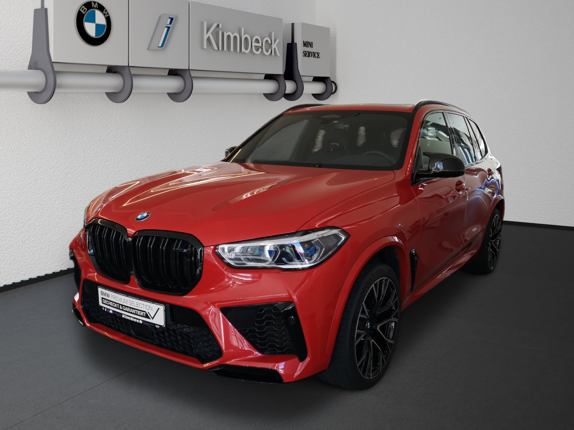 BMW X5 M Competition Pano Massage/Sitzbelüftung AHK, Jahr 2020, Benzin
