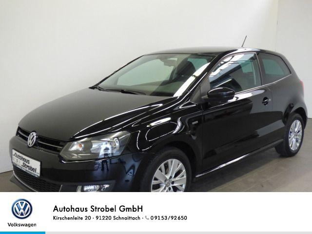 "Volkswagen Polo 1.2 TSI ""LIFE"" Radio/CD elektr.Spiegel+FH Klima Parkpilot Sitzheizung, Jahr 2013, petrol"