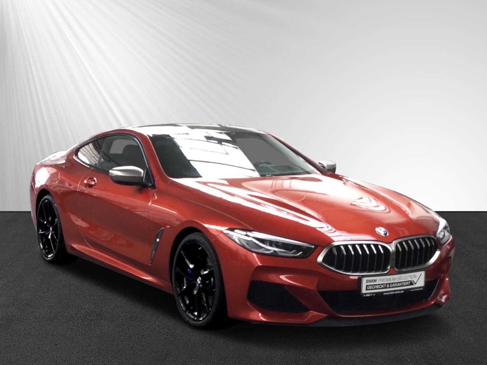 BMW M850i xDrive Coupe LiveCockpit H&K DA-Pr. Laser, Jahr 2018, petrol