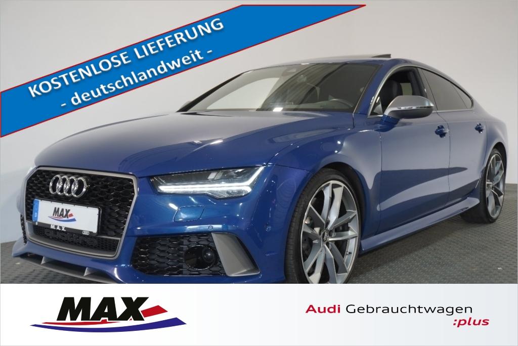 Audi RS7 4.0 TFSI 280 km/h LED HUD BOSE RS-SPORTABGAS, Jahr 2017, Benzin