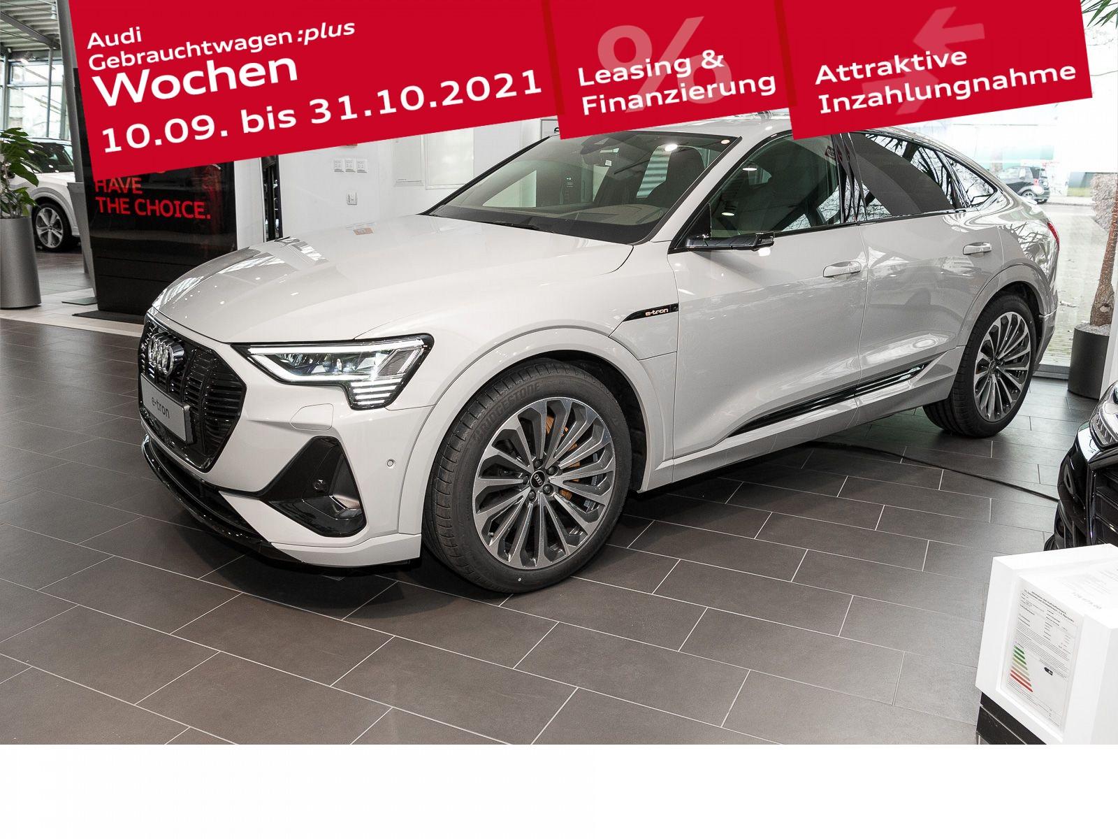 Audi e-tron Sportback S line 55 quattro, Jahr 2021, Elektro
