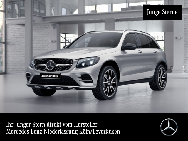 Mercedes-Benz GLC 43 AMG 4Matic Sportpaket Bluetooth Navi LED, Jahr 2017, Benzin
