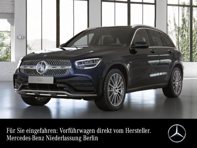 Mercedes-Benz GLC 300 de 4M AMG+Pano+LED+Kamera+Spur+Totw+9G, Jahr 2021, Hybrid_Diesel