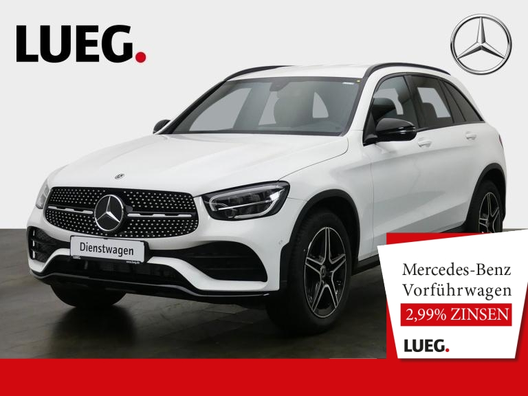 Mercedes-Benz GLC 200 4M AMG+NIGHT-P+19''+LED+KAM+MBUX+PTS+SHZ, Jahr 2020, Benzin