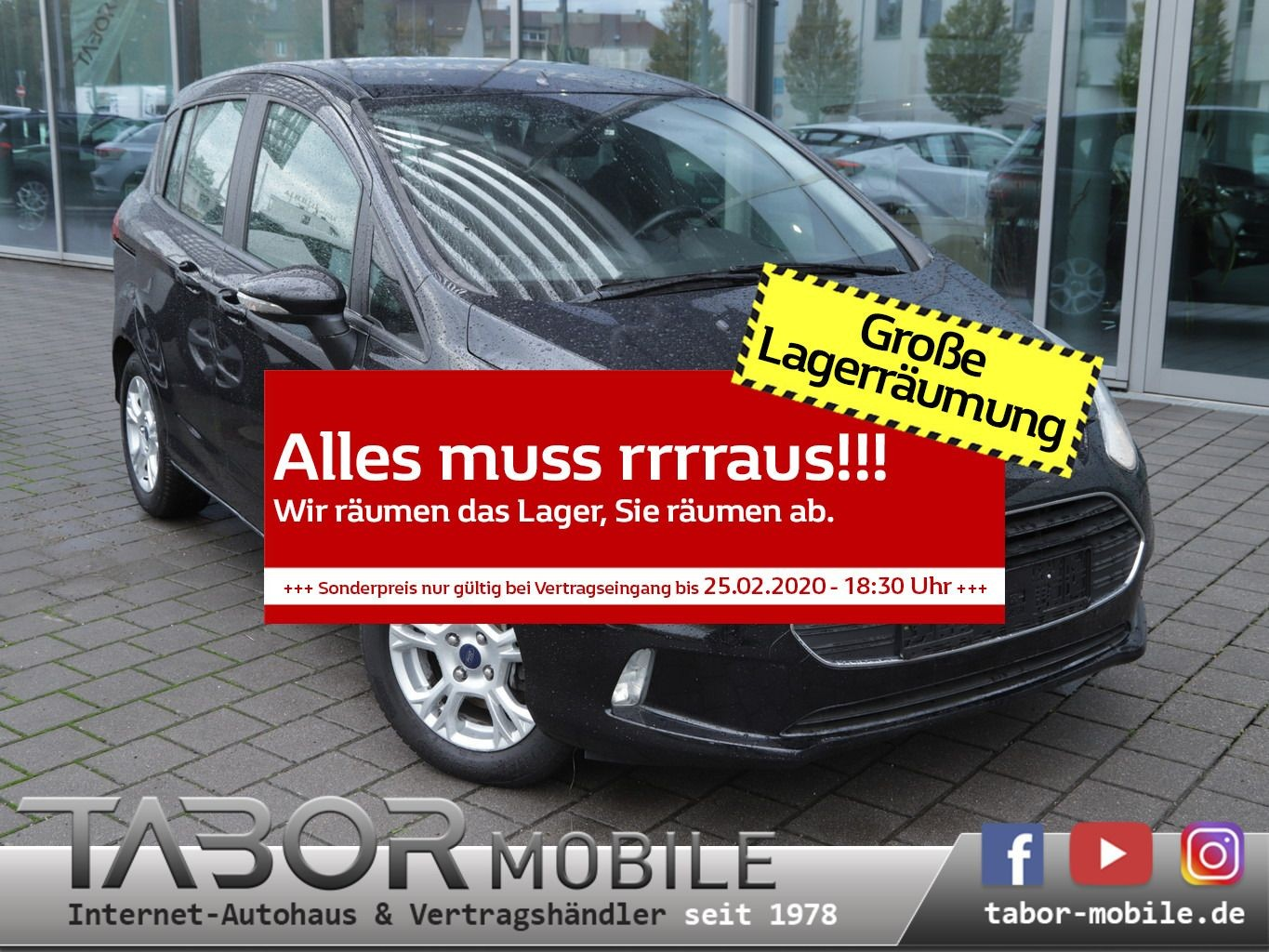 Ford B-Max 1.5 TDCi 75 SYNC Edition Cool&Sound, Jahr 2015, Diesel
