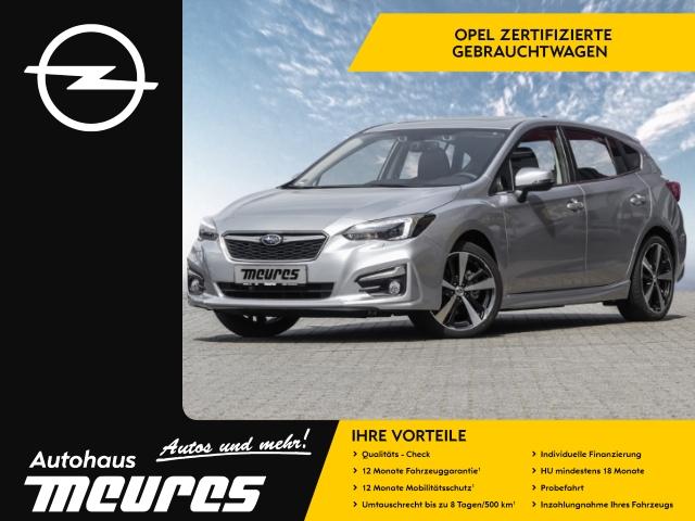 Subaru Impreza Sport 2.0i NAV KAMERA LEDER E-SITZ XENON -, Jahr 2017, petrol