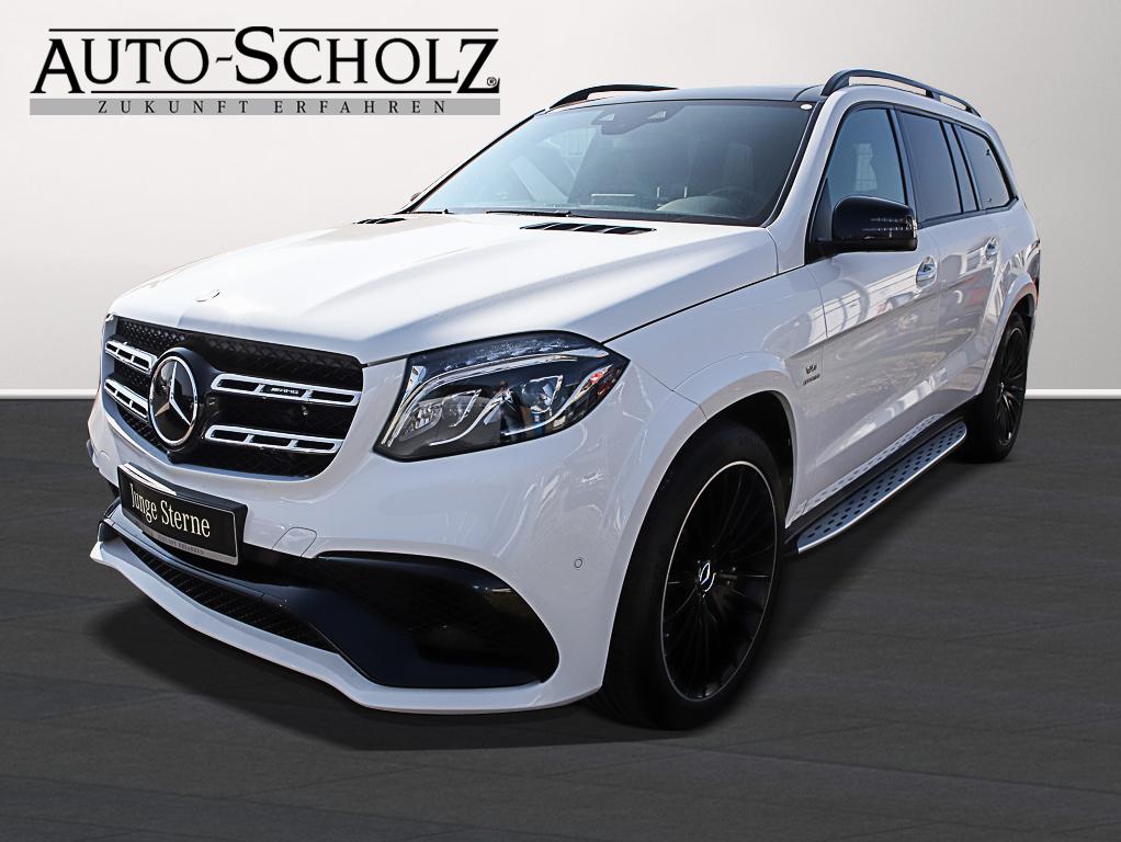 Mercedes-Benz GLS 63 AMG GLS 63 4MATIC LED+NAVI+PANORAMA+AHK, Jahr 2016, Benzin