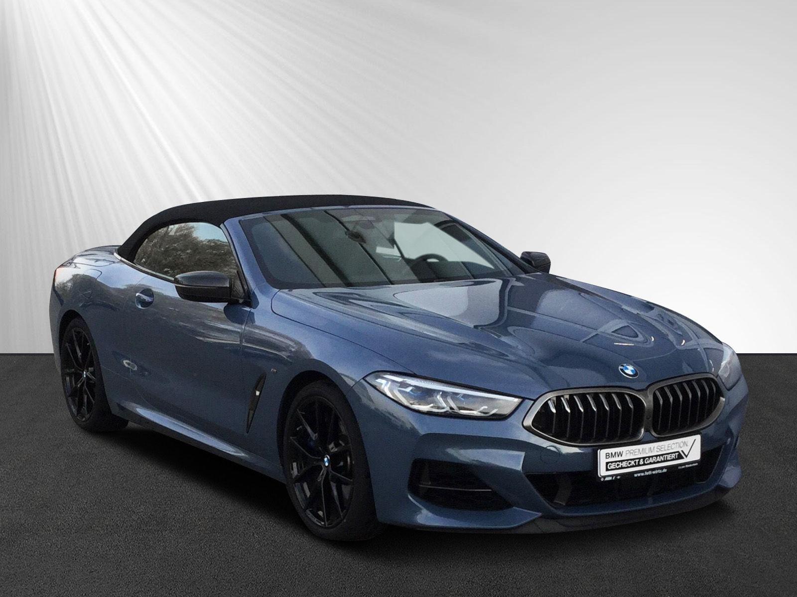BMW M850i xDrive Cabrio Leas. ab 999,- br. o. Anz., Jahr 2018, petrol