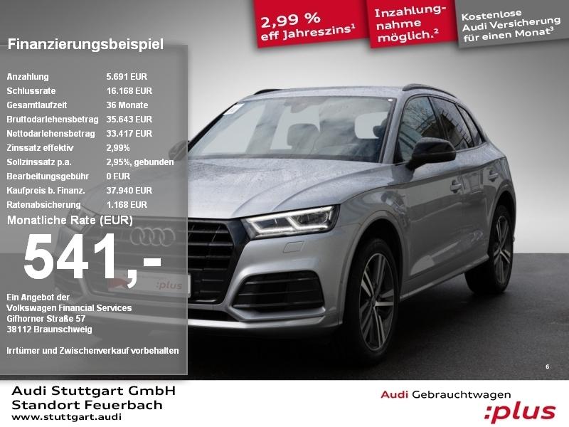 Audi Q5 Sport 2.0TDI quattro S line HeadUp Kamera AHK, Jahr 2017, Diesel