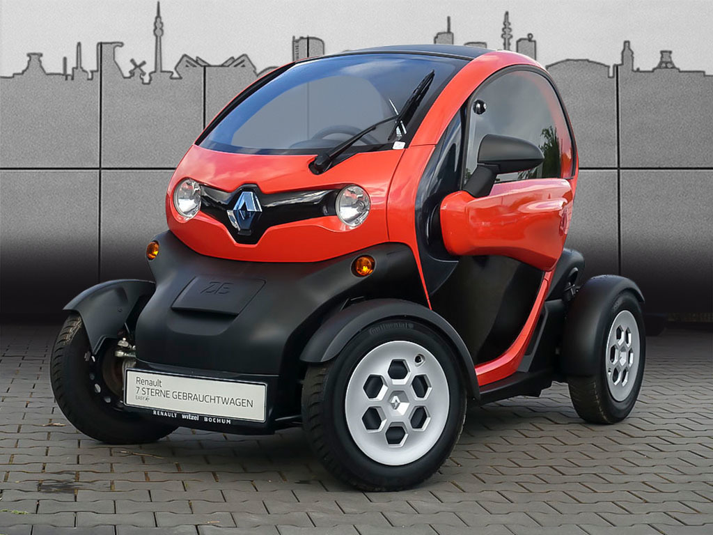 Renault Twizy Urban (Batteriemiete 59,00€ monatlich), Jahr 2012, Elektro