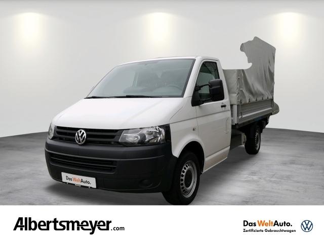 Volkswagen T5 Transporter Pritsche EKA Lang 2.0 TDI 4Motion, Jahr 2014, Diesel