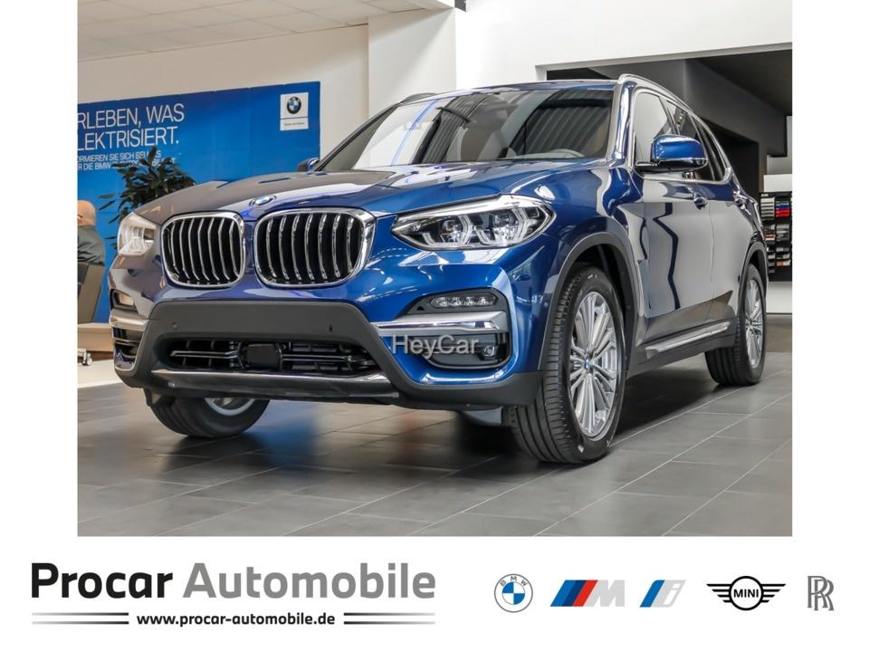 BMW X3 xDrive30d Luxury Line Innovationsp. AHK HUD, Jahr 2020, Diesel
