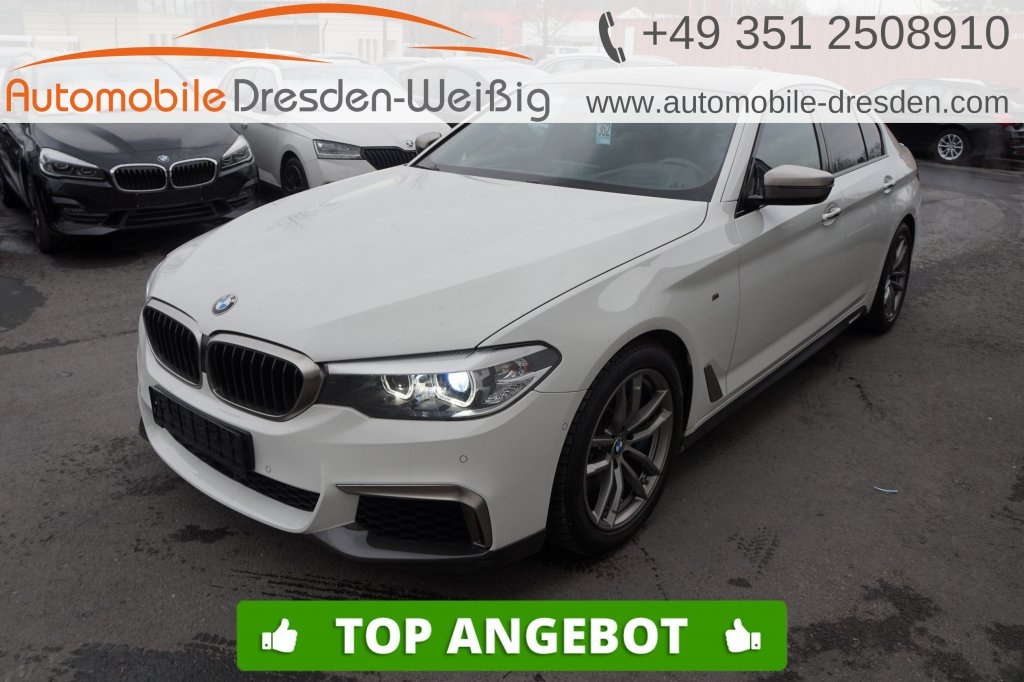 BMW M550 i xDrive*Navi Prof*HeadUp*Massage*Nappa*ACC, Jahr 2017, Benzin