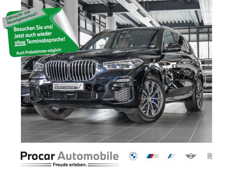 BMW X5 xDrive30d M Sportpaket Pano HUD HiFi AHK, Jahr 2021, Diesel