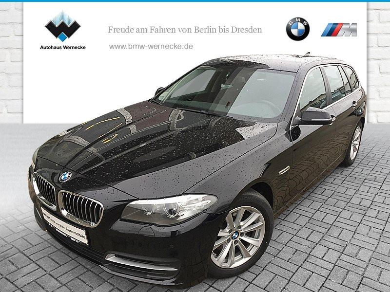 BMW 518d Touring HiFi AHK Klimaaut. Shz PDC, Jahr 2015, diesel