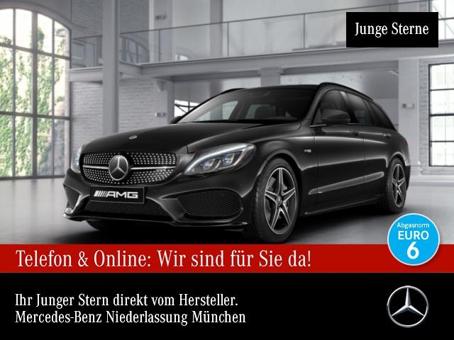 Mercedes-Benz C 43 AMG T 4M Carbon ILS Distronic COMAND Night, Jahr 2017, Benzin
