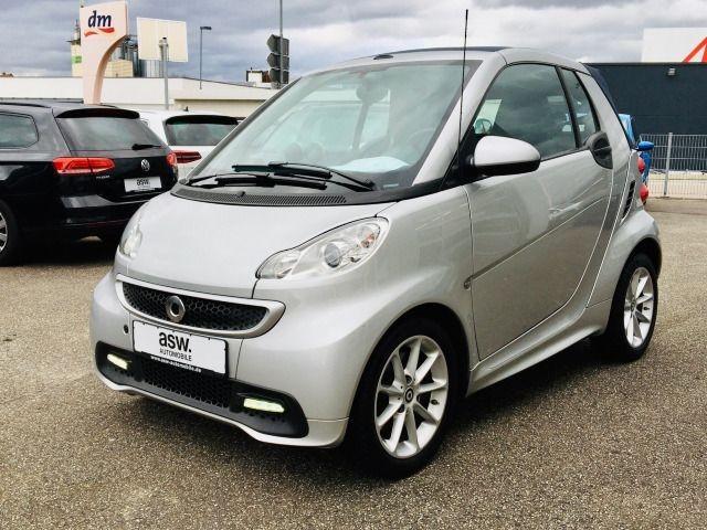 smart ForTwo Cabrio mhd Passion SHZ Klima, Jahr 2012, Benzin