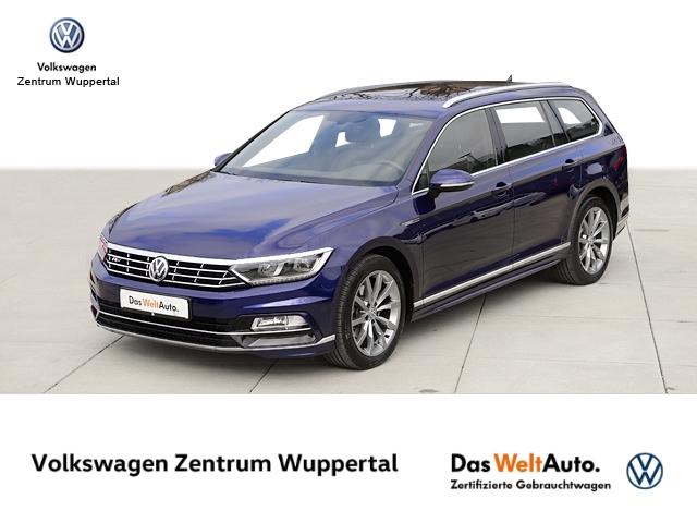 Volkswagen Passat Var. 2,0 TDI R-LINE 4M DSG LEDER LED NAVI SHZ PDC, Jahr 2018, Diesel