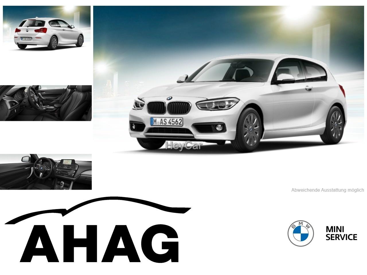 BMW 118i Advantage Aut. Navi Business Sportsitze PDC, Jahr 2017, Benzin