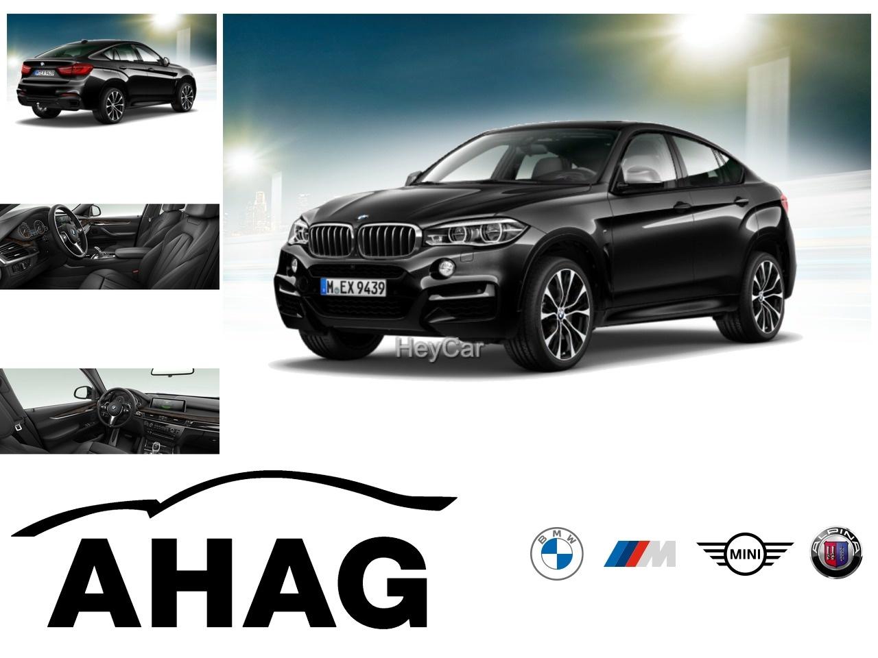 BMW X6 M50d M Sportpaket Navi Prof. Komfortsitze AHK, Jahr 2017, Diesel