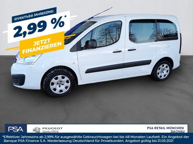 Peugeot Partner Tepee 98 VTi Active Klima Einparkhilfe Bluetooth, Jahr 2017, Benzin