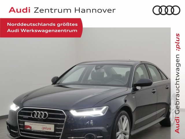 Audi A6 2.0 TFSI qu. S-line Sel., Standh., Matrix, Massage, Leder, Schiebed., UPE 80T€, Jahr 2018, Benzin