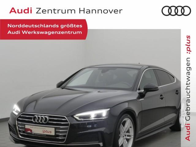 Audi A5 Sportback 2.0 TFSI S-line, Pano, B&O, virtual, LED, AHK, Jahr 2017, Benzin